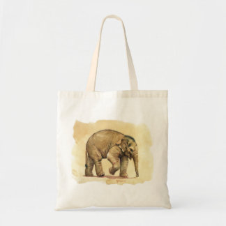 Baby Elephant by schukina Tote Bag