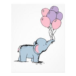 Baby Elephant Letterhead