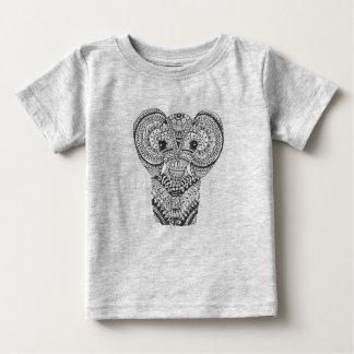 Baby Elephant Mandala T-shirt
