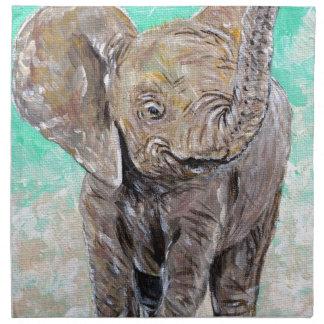 Baby Elephant Napkin