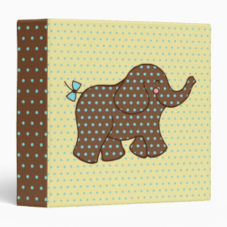 Baby Elephant Scrapbook Binder Gift