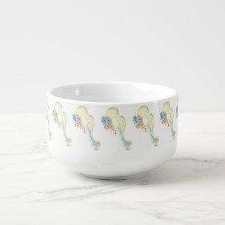 baby elephant soup mug