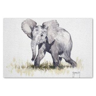 Baby Elephant Tissue Paper