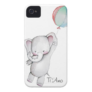 Baby Elephant with Balloon Blackberry Case