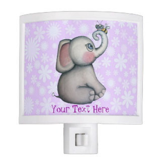 Baby Elephant with Bee Best Friend Night Light