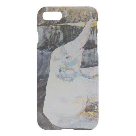 Baby Elephant with Mama Elephant iPhone 7 Case