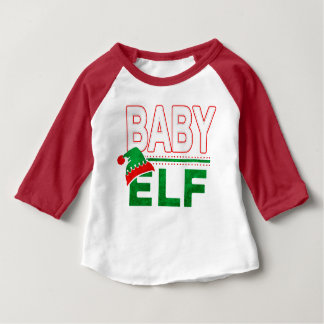 Baby Elf | Team Elf Christmas Holiday Family | Baby T-Shirt
