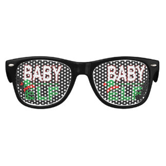 Baby Elf | Team Elf Christmas Holiday Family | Kids Sunglasses