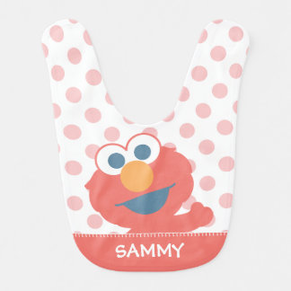 Baby Elmo | Add Your Name Bib