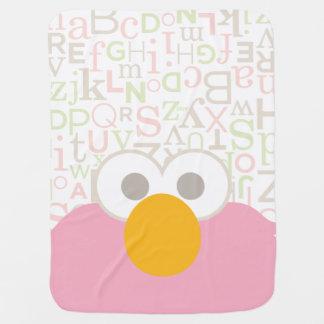 Baby Elmo Face Baby Blanket