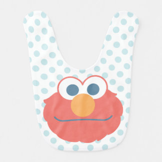 Baby Elmo Face Bib