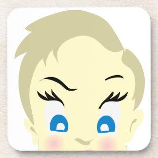 baby emoji - aggressive coaster