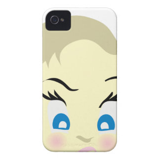 baby emoji - aggressive iPhone 4 cover
