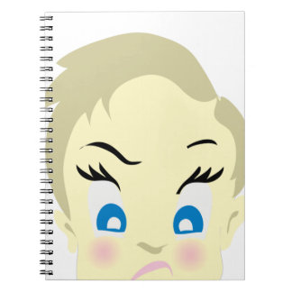 baby emoji - aggressive notebook