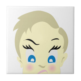 baby emoji - aggressive tile
