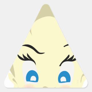 baby emoji - aggressive triangle sticker