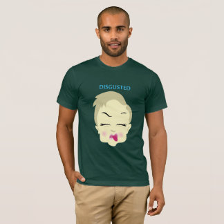 baby emoji - disgusted - green T-Shirt