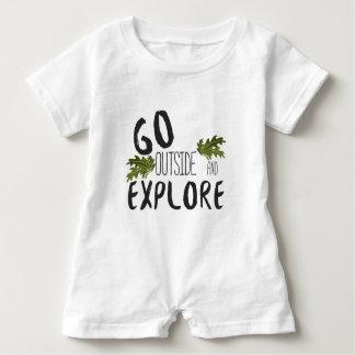 Baby Explore Baby Romper
