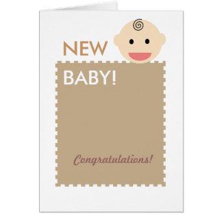 Baby Face Card