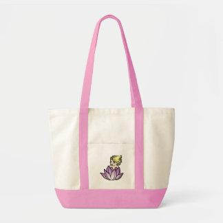 Baby Faerie in Lotus blossom Tote Impulse Tote Bag