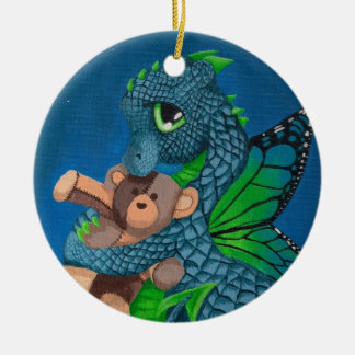 Baby Fairy Dragon Fun Ornament