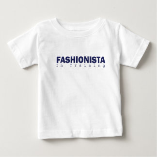 Baby: fashionista-in training baby T-Shirt