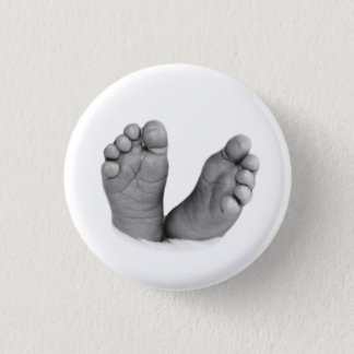 Baby Feet Button