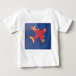 Baby Fine Jersey T-Shirt Aeroplane Aircraft Travel