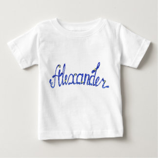 Baby Fine Jersey T-Shirt Alexander name