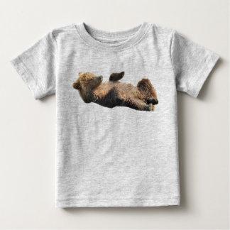 Baby Fine Jersey T-Shirt bear cubs