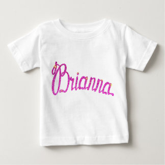 Baby Fine Jersey T-Shirt Brianna name