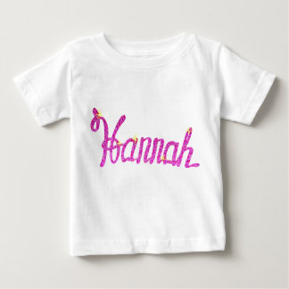 Baby Fine Jersey T-Shirt Hanna name