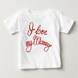 Baby Fine Jersey T-Shirt  I love my Mummy
