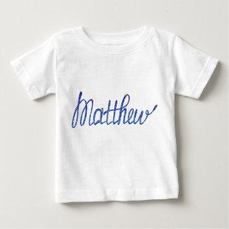 Baby Fine Jersey T-Shirt  Matthew