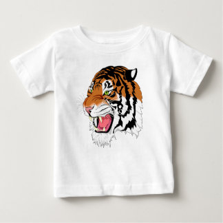 Baby Fine Jersey T-Shirt- Tiger Collection Baby T-Shirt