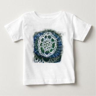 Baby Fine Jersey T-Shirt White mandala