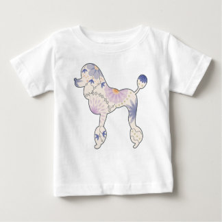 Baby Fine Jersey T-Shirt with vintage poodle