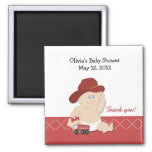 BABY FIRE FIGHTER Baby Shower Favour Magnet