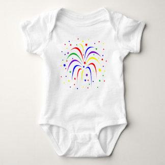 Baby Fireworks Jersey Bodysuit