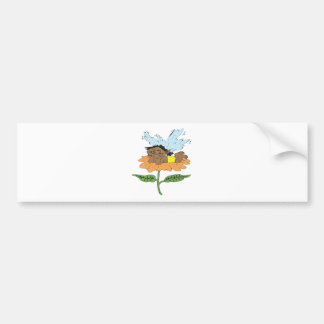 Baby-Flower-Faerie Bumper Stickers