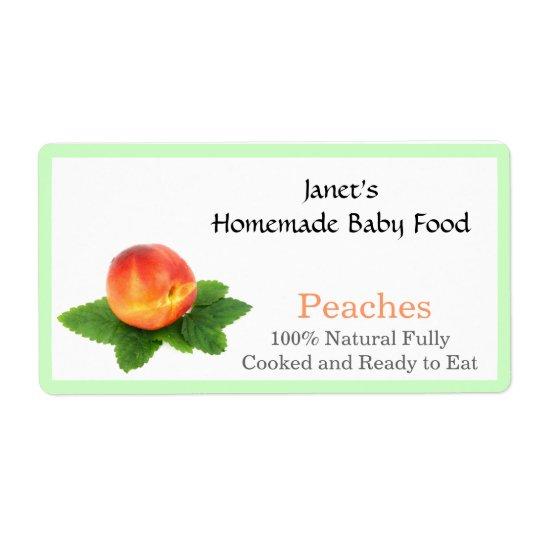 Baby Food Jar label Shipping Label