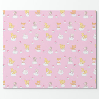 Baby Forest Wrapping Paper