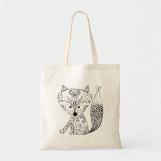 Baby Fox Color Me Small Tote
