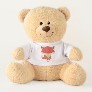 Baby Fox T-Shirt Stuffed Teddy Bear