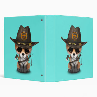 Baby Fox Zombie Hunter Binder
