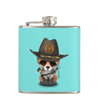 Baby Fox Zombie Hunter Flasks