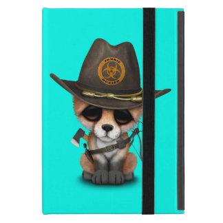 Baby Fox Zombie Hunter iPad Mini Cover