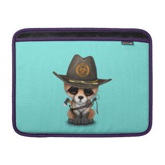 Baby Fox Zombie Hunter Sleeve For MacBook Air