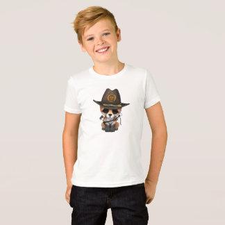 Baby Fox Zombie Hunter T-Shirt