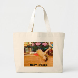 Baby Freeze Large Tote Bag